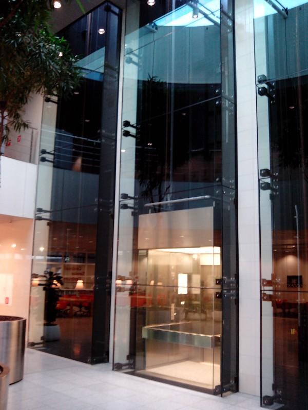 Liftschachten Provinciehuis Utrecht